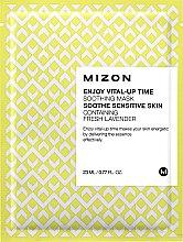 Parfumuri și produse cosmetice Mască din țesătură pentru fermitatea tenului - Mizon Enjoy Vital-Up Time Soothing Mask