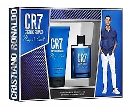 Parfumuri și produse cosmetice Cristiano Ronaldo CR7 Play It Cool - Set (edt/30ml + sh/gel/150ml)
