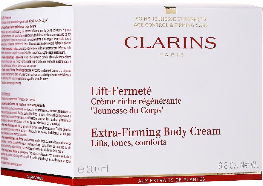 Cremă intensiv regeneratoare pentru corp - Clarins Extra-Firming Body Cream — Imagine N2