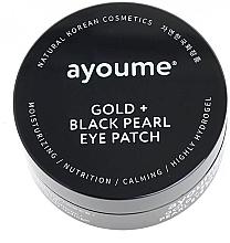 Parfumuri și produse cosmetice Patch-uri cu aur și perle negre - Ayoume Gold + Black Pearl Eye Patch