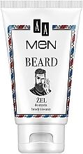 Parfumuri și produse cosmetice Gel pentru curățarea feței, pentru bărbați - AA Men Beard Face Gel