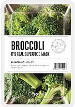 Parfumuri și produse cosmetice Mască facială cu broccoli - Dermal It'S Real Superfood Mask Brocoli