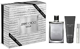 Parfumuri și produse cosmetice Jimmy Choo Man - Set (edt/100ml + edt/7.5m + afsh/balm/100ml)