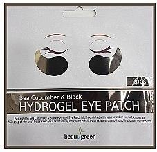 Parfumuri și produse cosmetice Patch-uri hidrogel pentru ochi - BeauuGreen Sea Cucumber Black