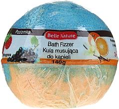 Parfumuri și produse cosmetice Bilă efervescentă, orange-albastru - Belle Nature Bath Fizzer