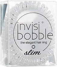 Parfumuri și produse cosmetice Elastic de păr - Invisibobble Slim Chrome Sweet Chrome