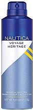 Parfumuri și produse cosmetice Nautica Voyage Heritage - Deodorant-spray