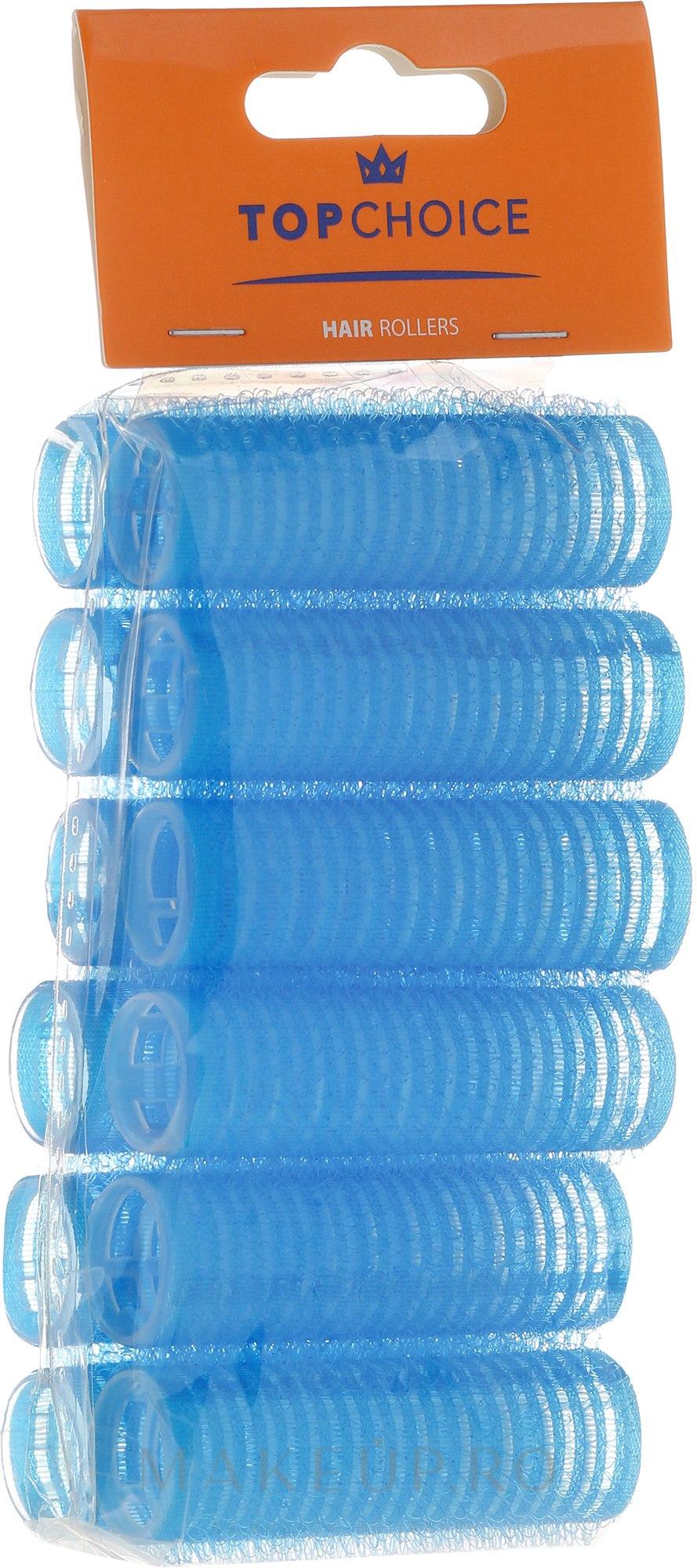 "Bigudiuri ""Velcro"" 18 mm, 12 buc., 0188 - Top Choice — Imagine 12 buc"