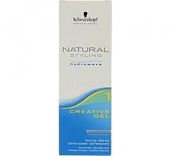 Gel creativ pentru rădacinile părului ondulat - Schwarzkopf Professional Natural Styling Creative Gel №1 — Imagine N3