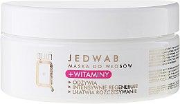 Parfumuri și produse cosmetice Mască pe bază de vitamine și in pentru păr - Silcare Quin Silk & Vitamins Hair Mask