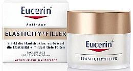 Parfumuri și produse cosmetice Cremă anti-îmbătrânire de zi pentru față - Eucerin Hyaluron-Filler + Elasticity Day SPF15 Cream
