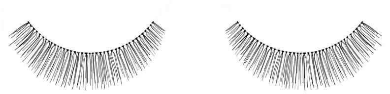 Gene false - Ardell Natural Eye Lashes Black 6 Pack 109 — Imagine N1