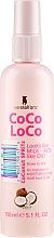Parfumuri și produse cosmetice Spray nutritiv cu ulei de cocos pentru păr - Lee Stafford Coco Loco Coconut Spritz