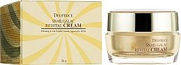 Parfumuri și produse cosmetice Cremă anti-îmbătrânire cu mucus de melc și extract de drojdie pentru față - Deoproce Snail Galac-Tox Revital Cream