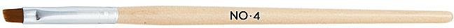 Pensulă teșită pentru manichiură, 4 - NeoNail Professional — Imagine N1