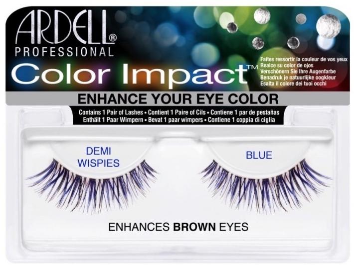 Extensii gene - Ardell Color Impact Lash Demi Wispies  — Imagine N1