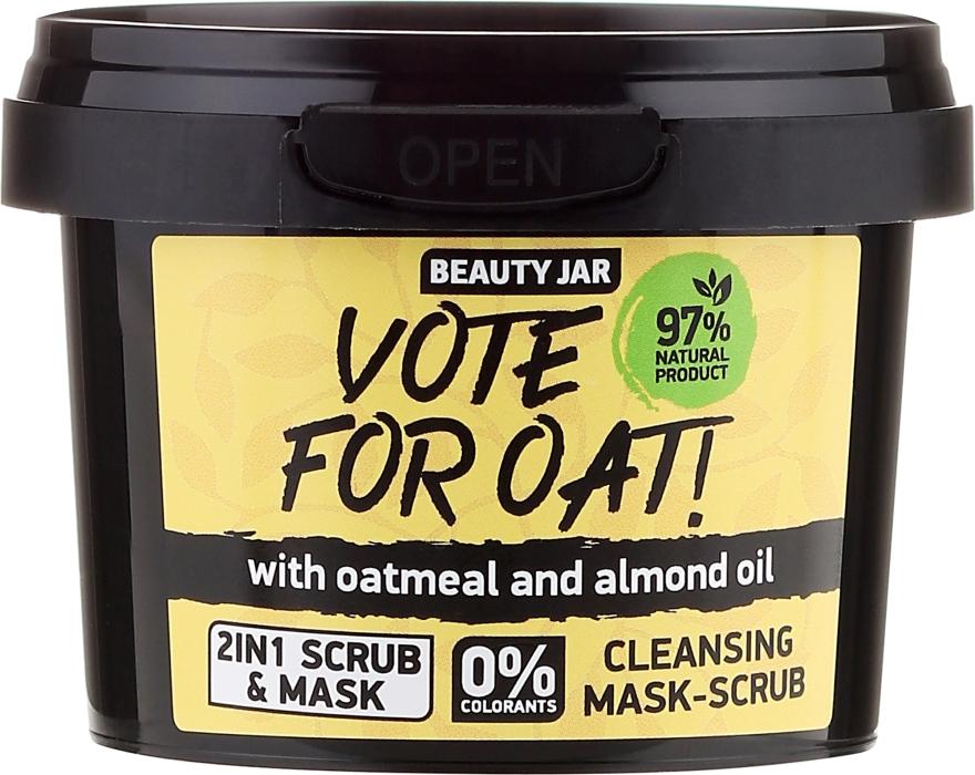 Mască-Scrub de curățare - Beauty Jar Vote For Oat! Cleansing Mask-Scrub
