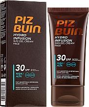 Parfumuri și produse cosmetice Cremă de plajă pentru față - Piz Buin Hydro Infusion SPF 30