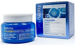 Parfumuri și produse cosmetice Cremă hidratantă cu colagen pentru față - FarmStay Collagen Water Full Moist Cream