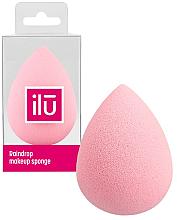 Parfumuri și produse cosmetice Burete de machiaj, roz - Ilu Sponge Raindrop Pink