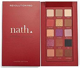 Parfumuri și produse cosmetice Paletă farduri de ochi - Makeup Revolution Pro X Nath Eyeshadow Palette