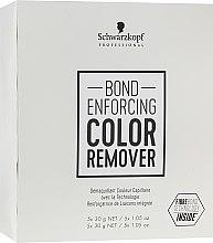Parfumuri și produse cosmetice Remediu pentru îndepărtarea pigmentului artificial de pe păr - Schwarzkopf Professional Bond Enforcing Color Remover