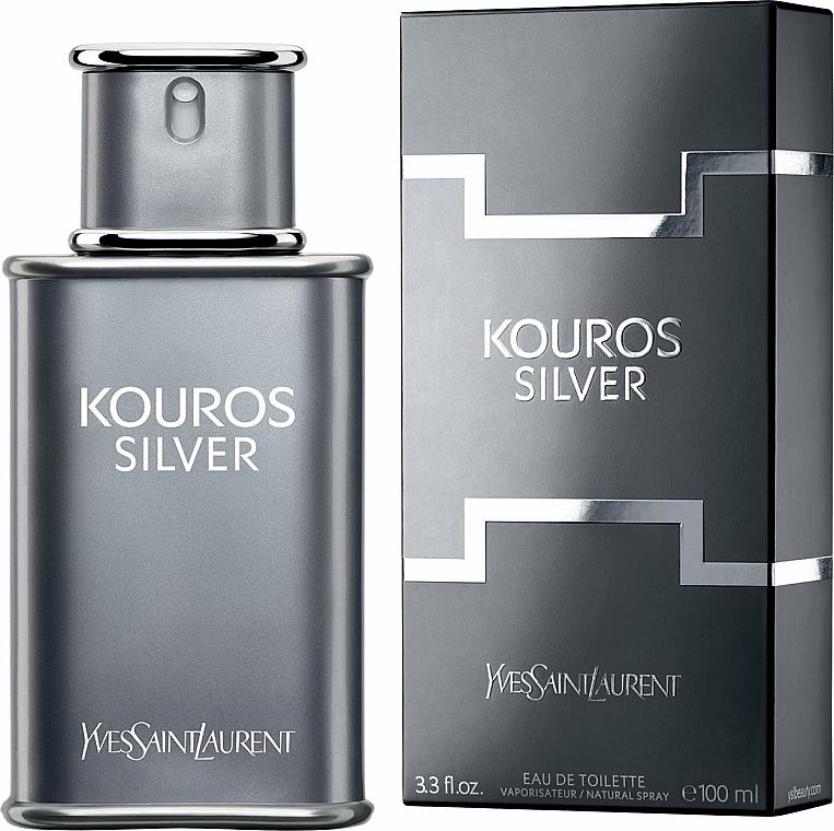 Yves Saint Laurent Kouros Silver - Apă de toaletă