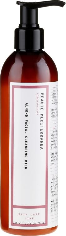Lapte cu extract de migdale pentru curățarea feței - Beaute Mediterranea Almond Facial Cleansing Milk — Imagine N1