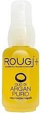 Parfumuri și produse cosmetice Ulei de argan pentru față, corp și păr - Rougj+ Pure Argan Oil