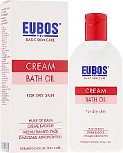 Ulei de baie - Eubos Med Basic Skin Care Cream Bath Oil For Dry Skin — Imagine N1