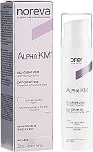 Parfumuri și produse cosmetice Cremă de zi pentru față - Noreva Laboratoires Alpha KM Day Cream-Gel Anti-Wrinkle Care