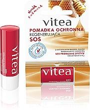 Parfumuri și produse cosmetice Balsam regenerant de buze - Vitea SOS Lipbalm