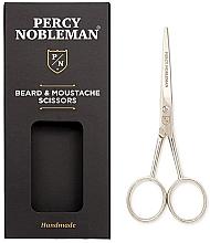 Parfumuri și produse cosmetice Foarfece de tuns - Percy Nobleman Beard & Moustache Scissors
