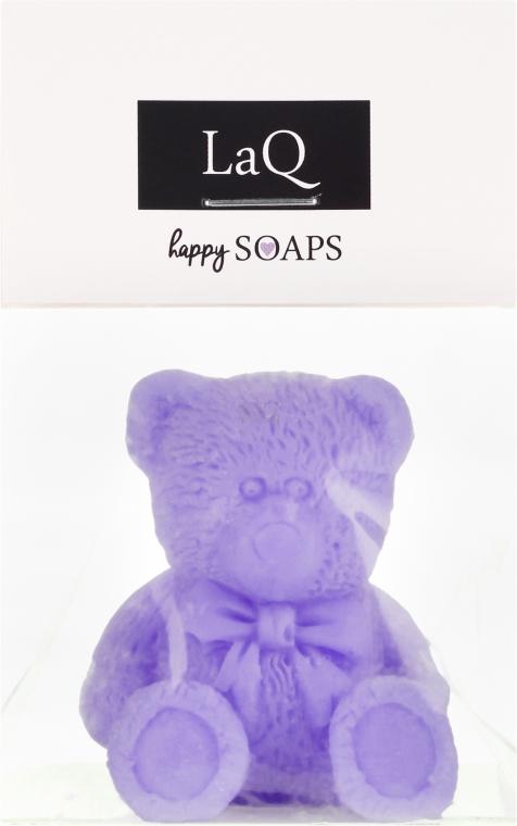 """Săpun natural """"Ursuleț"""" cu aromă de lavandă - LaQ Happy Soaps Natural Soap"""