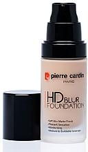 Parfumuri și produse cosmetice Fond de ten - Pierre Cardin HD Blur Foundation