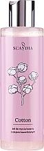 """Parfumuri și produse cosmetice Gel de curățare """"Bumbac"""" - Scandia Cosmetics Cotton Gel"""