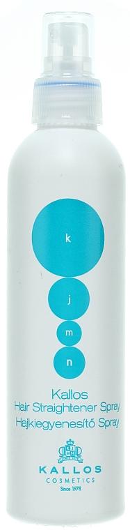 Spray de netezire pentru păr - Kallos Cosmetics Hair Straightener Spray
