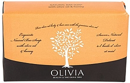 "Parfumuri și produse cosmetice Săpun solid ""Olive și miere"" - Olivia Beauty & The Olive Tree Natural Bar Soap With Olive Oil And Honey"