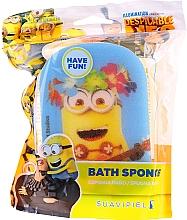 """Parfumuri și produse cosmetice Burete de baie, pentru copii """"Minions"""", Kevin, galbenă - Suavipiel Minnioins Bath Sponge"""