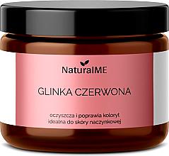 """Parfumuri și produse cosmetice Argilă naturală """"Red"""" - NaturalME"""