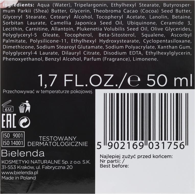 Cremă-lifting cu efect antirid 70+ - Bielenda Camellia Oil Luxurious Cream 70+ — Imagine N3