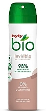 Parfumuri și produse cosmetice Deodorant spray - Byly Bio Natural 0% Invisible Desdorant Spray
