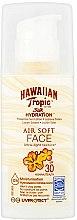 Parfumuri și produse cosmetice Loțiune cu protecție solară pentru față - Hawaiian Tropic Silk Hydration Air Soft Face Protective Sun Lotion SPF 30