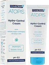 Cremă hidratantă pentru față și corp - Novaclear Atopis Hydro-Control Cream — Imagine N1