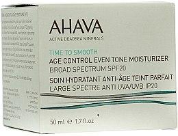 Parfumuri și produse cosmetice Cremă anti-îmbătrânire SPF 20 - Ahava Age Control Even Tone Moisturizer Broad