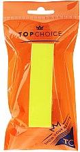 Parfumuri și produse cosmetice Pilă de unghii 120/150, 74813, galbenă - Top Choice Colours Nail Block