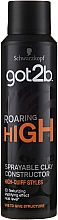 Parfumuri și produse cosmetice Spray pentru păr - Schwarzkopf Got2b Roaring High Sprayable Clay Constructor
