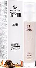 Parfumuri și produse cosmetice Cremă de zi cu extract de chihlimbar - SM Collection Crystal Amber Day Cream