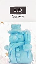 """Parfumuri și produse cosmetice Săpun natural """"Omul de zăpadă"""" cu aromă de fructe - LaQ Happy Soaps Natural Soap"""