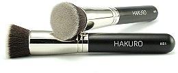 """Parfumuri și produse cosmetice Pensulă pentru fond de ten """"H51"""" - Hakuro"""